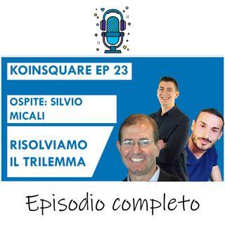 Risolviamo il TRILEMMA, con Silvio Micali di Algorand EP 23 SEASON 2020
