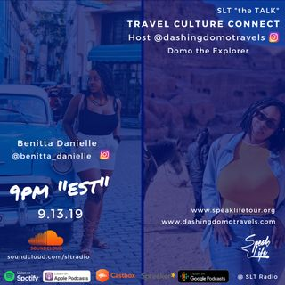 "9.13 ""Travel Culture Connect"" featuring Benitta Danielle"