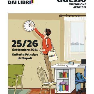Ricomincio dai libri - fiera del libro ad ingresso gratuito sotto la direzione artistica di Lorenzo Marone.