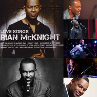 "Brian McKnight  ""The Live Love Song Album Mix"""