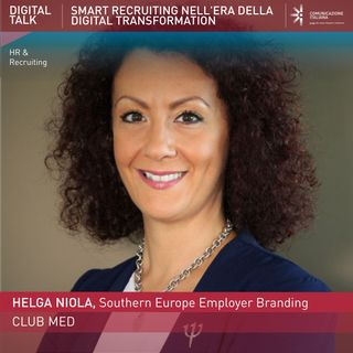 Helga Niola, Southern Europe Recruiting Manager | ClubMed