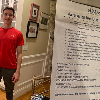 Wellesley Teen Helps Develop A Better Driver's Ed Course
