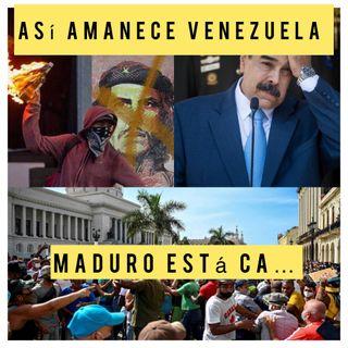 Lo de Cuba tiene a Maduro Ca...Podcast Así amanece Venezuela miércoles #14Jul 2021