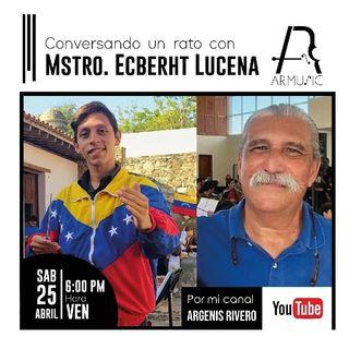 Argenis Rivero conversando con Ecberht Lucena. Cap: 1