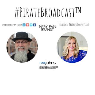 Catch Mary Fain Brandt on the #PirateBroadcast™