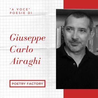 A voce - tre poesie di Giuseppe Carlo Airaghi