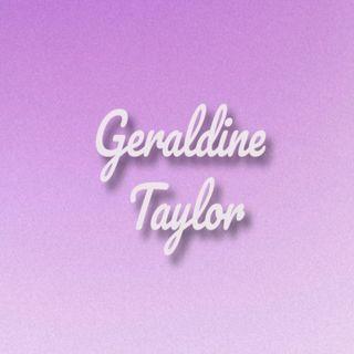 Songwriter Geraldine Taylor