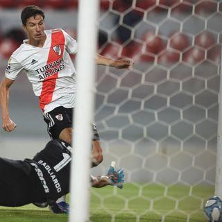 Gol de River: Ignacio Fernández 1-0