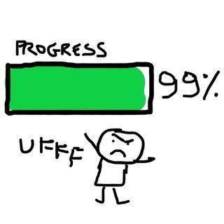 Abbandonare un'opera prima che finisca è una cosa buona, cattiva o media?