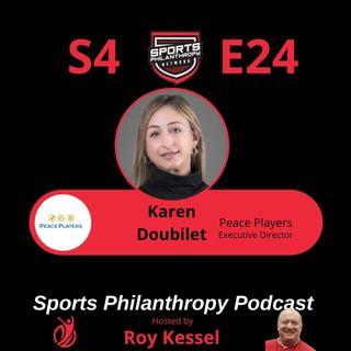 S4:EP24--Karen Doubilet, PeacePlayers