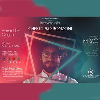 Intervista allo Chef Mirko Ronzoni