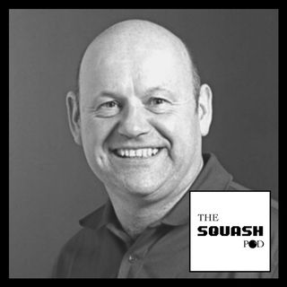 Join The Squash pod and WSF Referee/Senior Assessor & Tutor, Roy Gingell