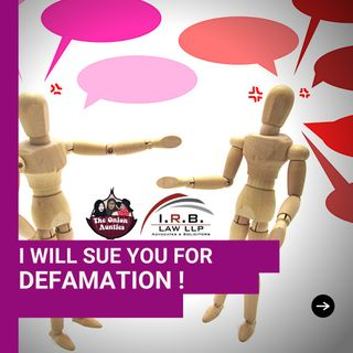 Episode 76: I will sue you for DEFAMATION!