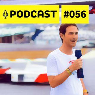 #056 – Entrevista com Bruno Senna: a trajetória no automobilismo e histórias com tio Ayrton Senna