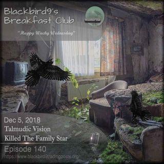 Talmudic Vision Killed The Family Star - Blackbird9 Podcast