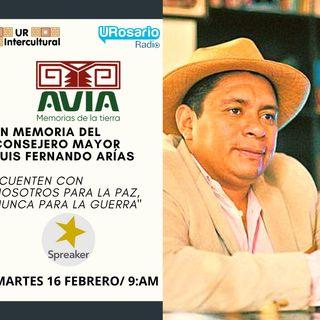 En memoria de Luis Fernando Arias