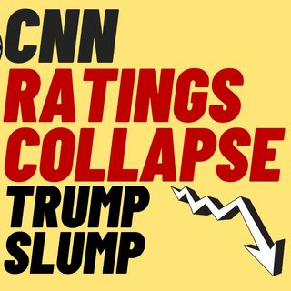Cable News Ratings Collapse Under TRUMP SLUMP - CNN Ratings Disaster