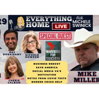 229 LIVE: Border Crisis, Biz Reboot, Save America, Social Media, Motivate, Detox