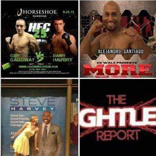 Fightlete Report Radio September 1st