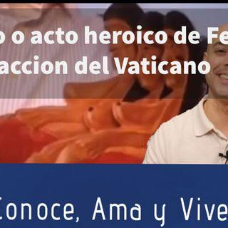 Bono: ¿Robo o acto heroico de Fe? Reaccion del Vaticano ( Ídolos Indígenas Roma)