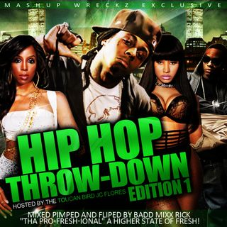 Mashup Wreckaz Hip Hop Throwdown Edition Vol. 1