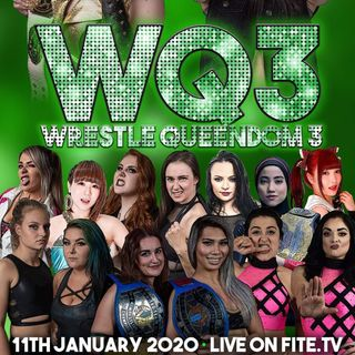 ENTHUSIASTIC REVIEWS #105: EVE Wrestle Queendom 3 1-12-2020 Watch-Along