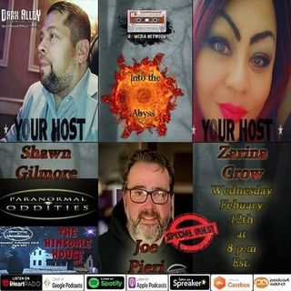 Special Guest Joe Pieri from Paranormal Oddities