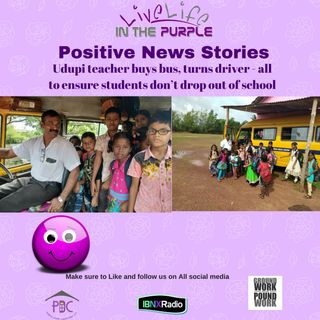 Positive News 8-21-2018 - A weekly segment on Live Life In the Purple with MLuv