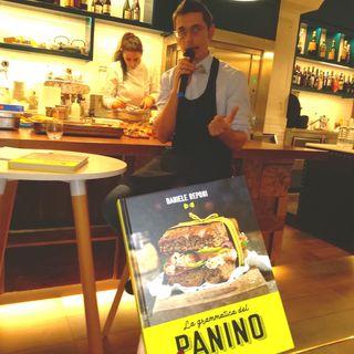 """Intervista a Daniele Reponi a margine della presentazione del libro """"La grammatica del panino"""""""