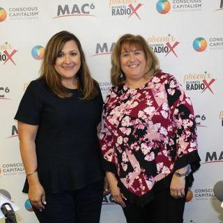Ilana Lowery and Victoria Saylor with Common Sense Media