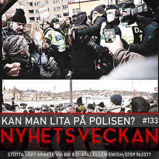 Nyhetsveckan #133 – Kan man lita på polisen?, den avskyvärda religionen, Bulletinsåpan