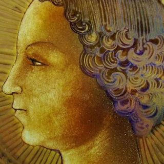 Primera obra pictórica de Leonardo Da Vinci