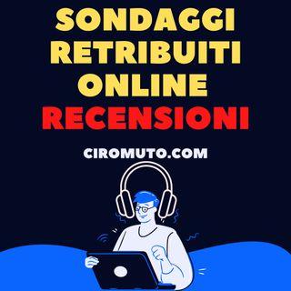 Sondaggi retribuiti online recensioni