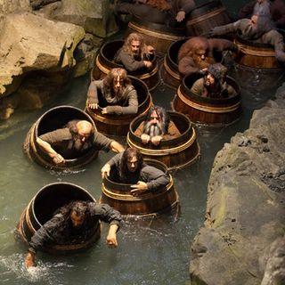 Lo Hobbit  9. Barili in libertà