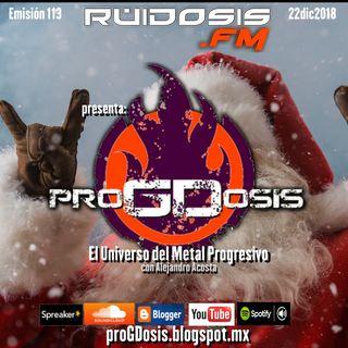 proGDosis 113 - 22dic2018 - Especial Navidad 2018