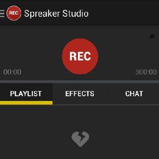 #02 Spreaker Studio na Nexus 5