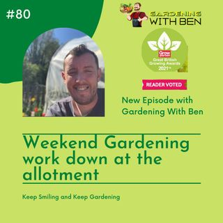 Episode 80 - Weekend Gardening Jobs at the Allotment