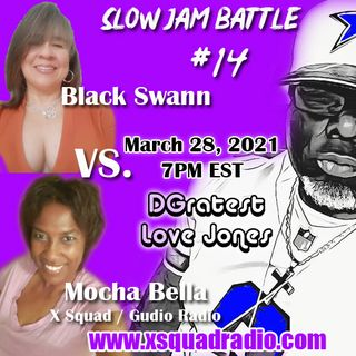 DGratest Sunday Night Love Jones Presents : The Battle of The Slow Jams Season 2 Part 14 - Mocha Bella vs Black Swann