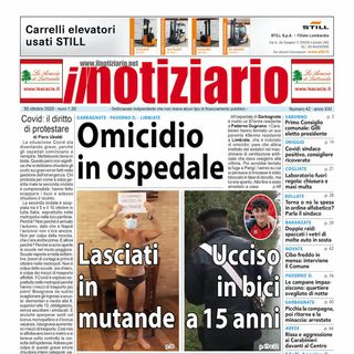 Prima pagina - Il notiziario 30 ottobre 2020