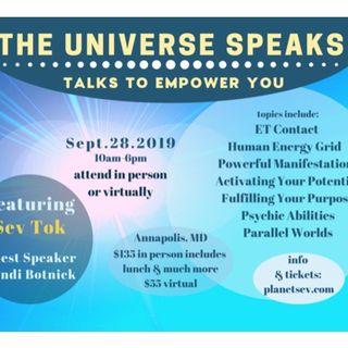 Sev Tok ~08/15/19 ~Experiencer's Network ~Hosts Janet Kira Lessin & Andrew Aloha