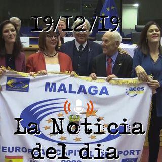 Málaga ha sido elegida Capital Europea del Deporte 2020