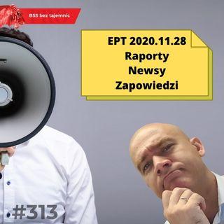 #314 EPT, czyli Ekspresowe Podsumowanie Tygodnia. 20201128