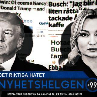 Nyhetshelgen #99 – Det riktiga hatet, stackars Borås, klimatalarmismen