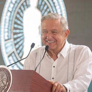 AMLO realizó una gira de trabajo privada por el norte de Veracruz.