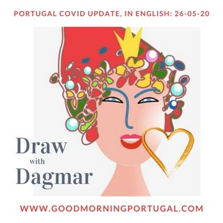 Portugal Covid news & weather update PLUS 'Drawing with Dagmar'