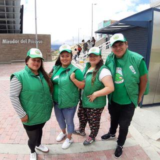 Tourism in Bogotá's 'badlands'