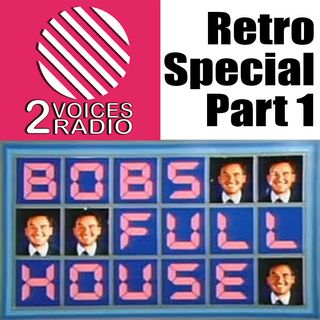 Retro Themed Show part 1. The bus, Hunted, live and event telly, cheap gameshows. EP 64