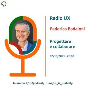07/10/2021 - Federico Badaloni - Progettare è collaborare