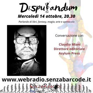 Fantastico, cultura, risate e chiacchiere con Claudio Miani