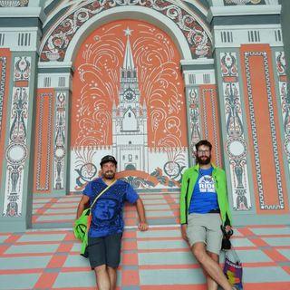 Christian e Omar sono arrivati in Mongolia